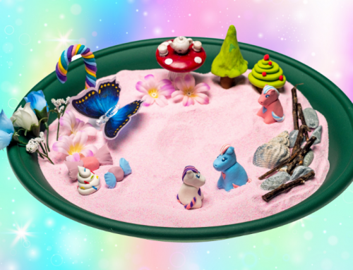 Small world play sand ideas & activities for home schooling