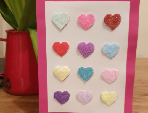 How to Make a Craft Sand Valentine's Card